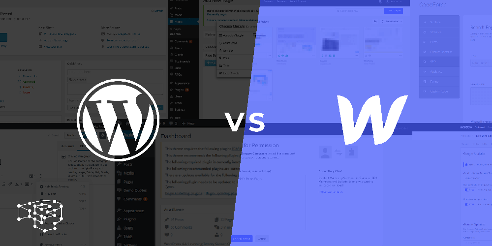 Overview: Webflow vs WordPress