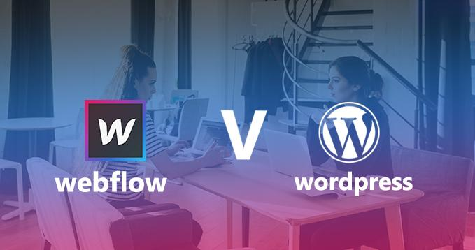 Webflow vs. WordPress