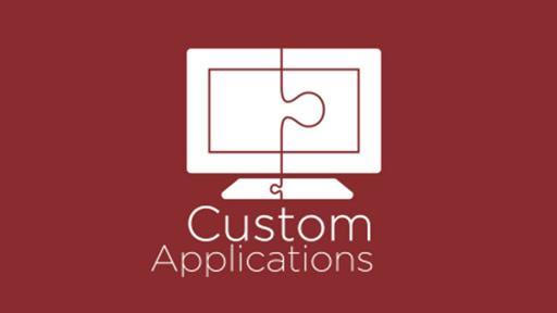 custom developed application